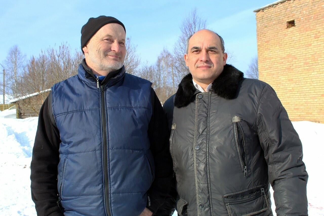 Руслан Щербаков и Владимир Оплеснин