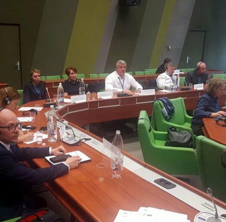 Сергей Гапликов принмиает участие в Конгрессе местных и региональных властей