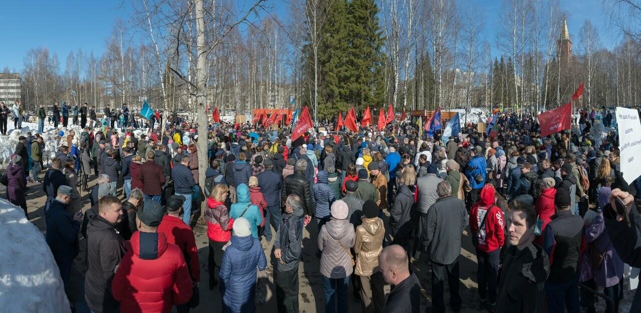 Акцию против строительства полигона ТКО проводил реском КПРФ во главе с Олегом Михайловым, главным коммунистом Коми