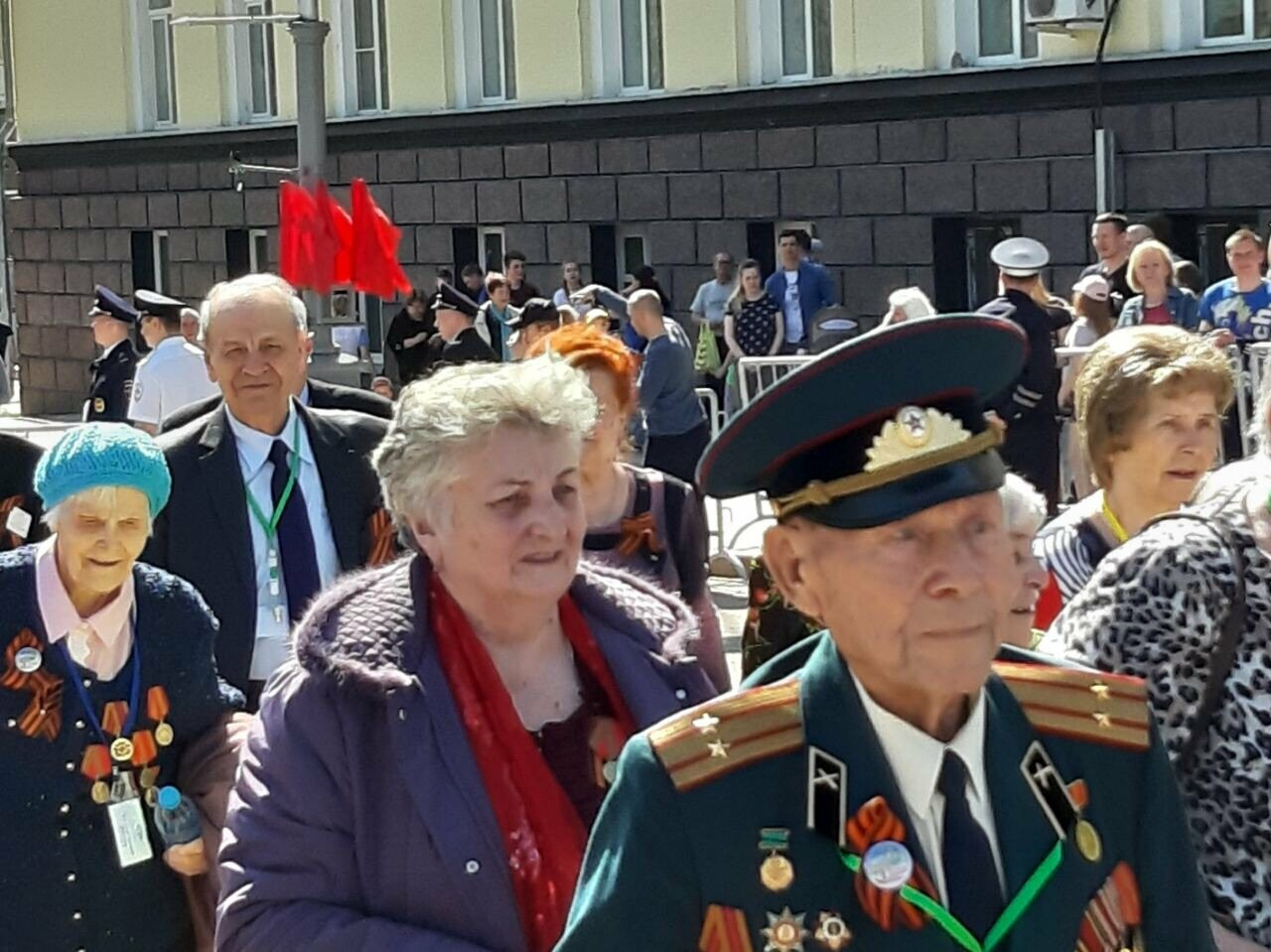 День Победы в Сыктывкаре