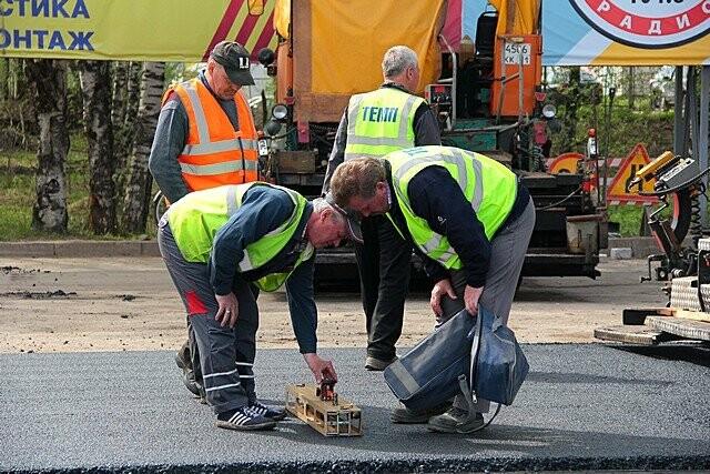 По результатам обследования участков дорог по первому этапу реализации нацпроекта замечаний по работе подрядной организации выявлено не было